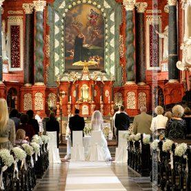 Dekoracja ślubna Kościoła św. Antoniego w Poznaniu