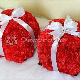 Elegancko i oryginalnie – czerwone kwiaty