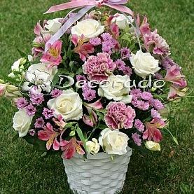 Delikatne kolory kwiatow