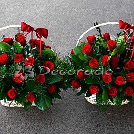 Klasyczne czerwone róże