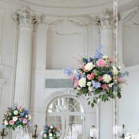 Dekoracja sali balowej Pałacu w Rydzynie