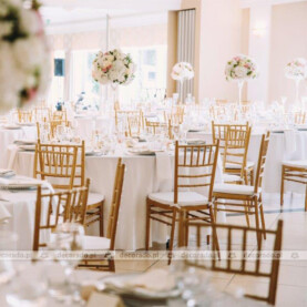 Dekoracja sali weselnej w Pałacu Wąsowo