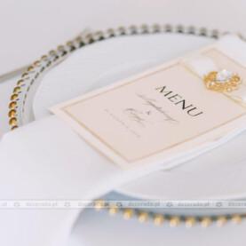 Złote dodatki w stylu glamour – Pałac Wąsowo