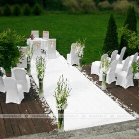 Dekoracja ceremonii ślubnej – Pałac Iwno