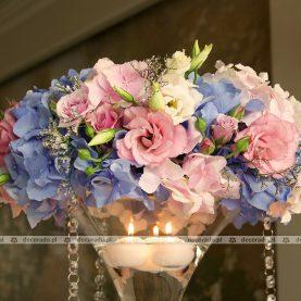 Delikatne romantyczne wianki z kwiatów – Pałac na Opieszynie