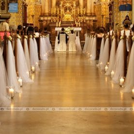 Kościół św. Floriana w Poznaniu – zwiewna dekoracja kościoła