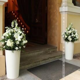 Dekoracja wejścia do Pałacu Biedrusko