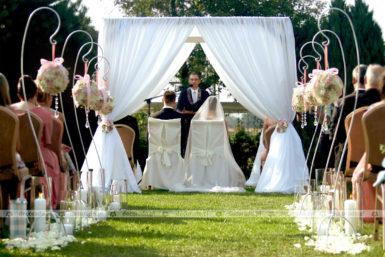 Dekoracja ślubu w plenerze – Rezydencja Solei
