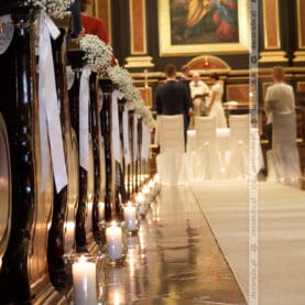 Dekoracja ślubna Kościoła św. Józefa