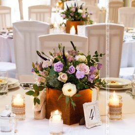 Dekoracja ślubna w stylu vintage – Gościniec Marzymięta