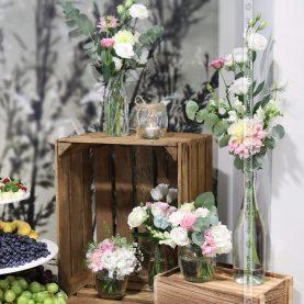 Skrzynki, butelki, słoiki – wystrój vintage w Barczyźnie