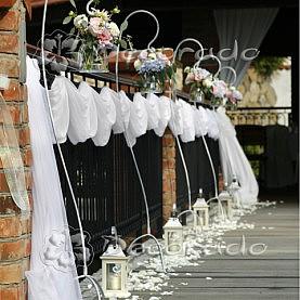 Dekoracja ślubu plenerowego Villa Natura Dolsk