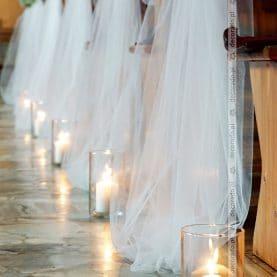Romantyczna dekoracja Kościoła św. Anny w Poznaniu