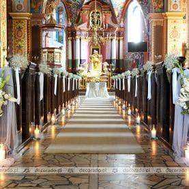 Dekoracja Kościoła św. Andrzeja Apostoła w Komornikach