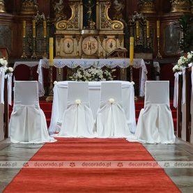 Dekoracja ślubna Kościoła św. Jana Chrzciciela w Owińskach