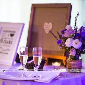 Ślubna dekoracja w Hotelu Remes