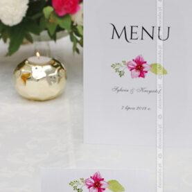 Dekoracje ślubne z akcentem amarantu – Dworek Róża Poraja