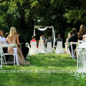Ceremonia ślubna na trawie – Pałac Wąsowo