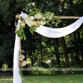 Ślubne dekoracje w plenerze – Pałac Wąsowo