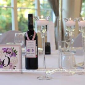 Eleganckie dodatki w dekoracji ślubnej