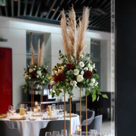 Oryginalna dekoracja sali weselnej – Młyńska 12