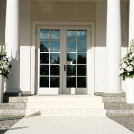 Pałac Jaśminowy Dekoracja wejścia