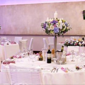 Dekoracja ślubna w naturalnym stylu Hotel Remes