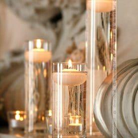 Dekoracja sali – eleganckie detale – Zamek w Rydzynie