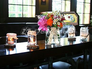 Szkło, drewno, koronka – ślub vintage
