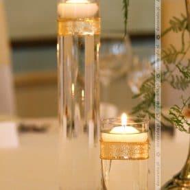 Dekoracja sali w Pałacu w Iwnie – złote dodatki