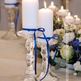 Eleganckie dodatki w dekoracji sali