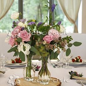 Naturalne bukiety kwiatów  – dekoracja vintage w Novel House