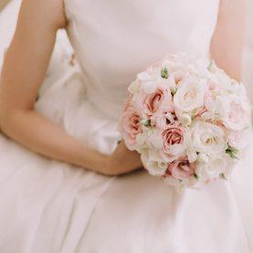 Eteryczny bukiet ślubny