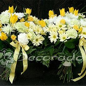 Bukiety kwiatów w delikatnej kolorystyce