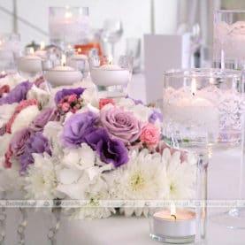 Szkło, świece, kwiaty – ślubne dekoracje w Solei