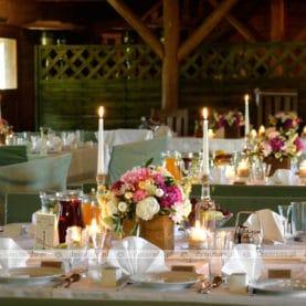 Romantyczna dekoracja wesela w stylu Vintage