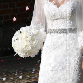 Klasyczny bukiet ślubny