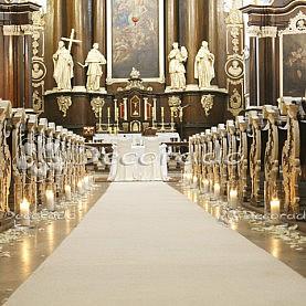 Dekoracja ślubna – Klasztor w Woźnikach